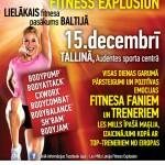 """Lielākais fitnesa pasākums Baltijā """"Les Mills Fitness Explosion"""""""