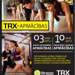 Iespēja, kas jāizmanto katram īstam fitnesa trenerim - TRX® apmācības!