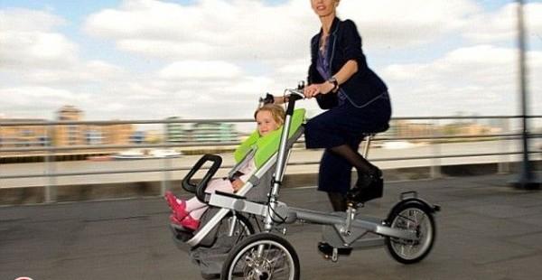 Bērnu ratiņi modernām un sportiskām māmiņām