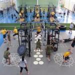 Kopā ar Life Fitness izveidota WARRIOR ZONE instalācija militārās atpūtas kompleksā ASV