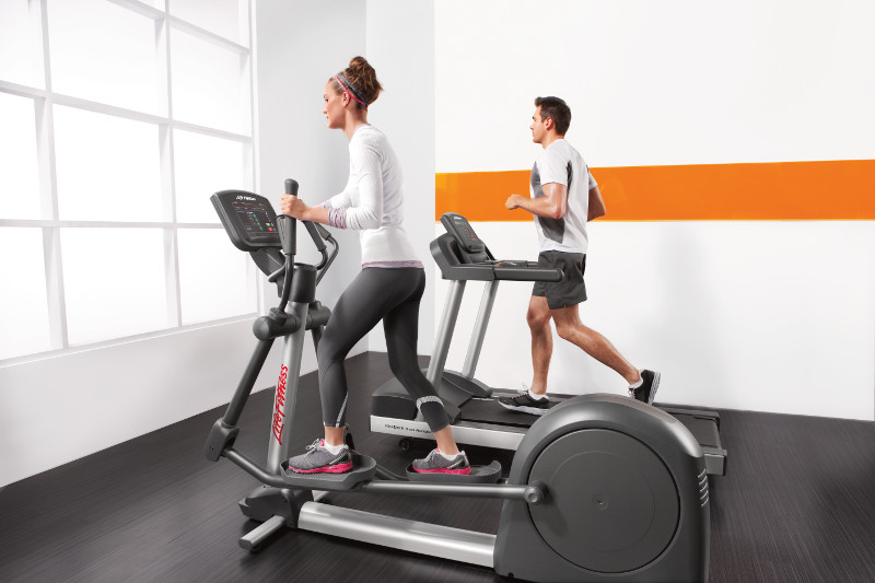 Activate Cross-Trainer and Treadmill Lifestyle_Side View